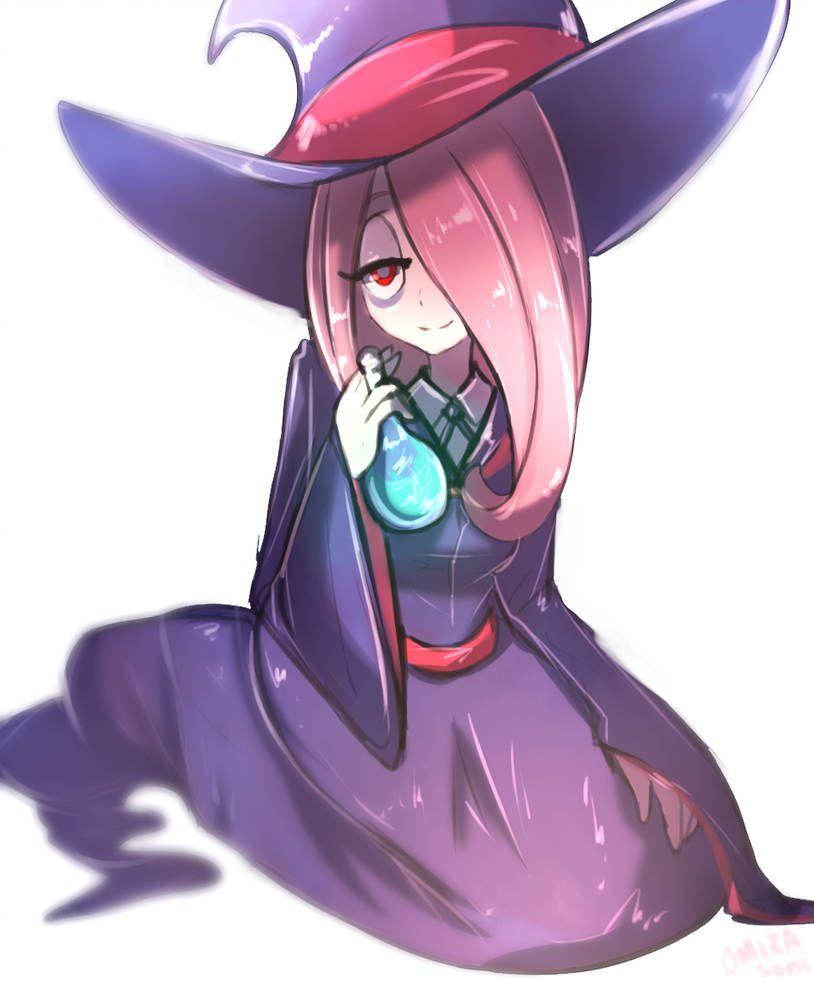 Lwa sucy by omizazu little witch academia characters