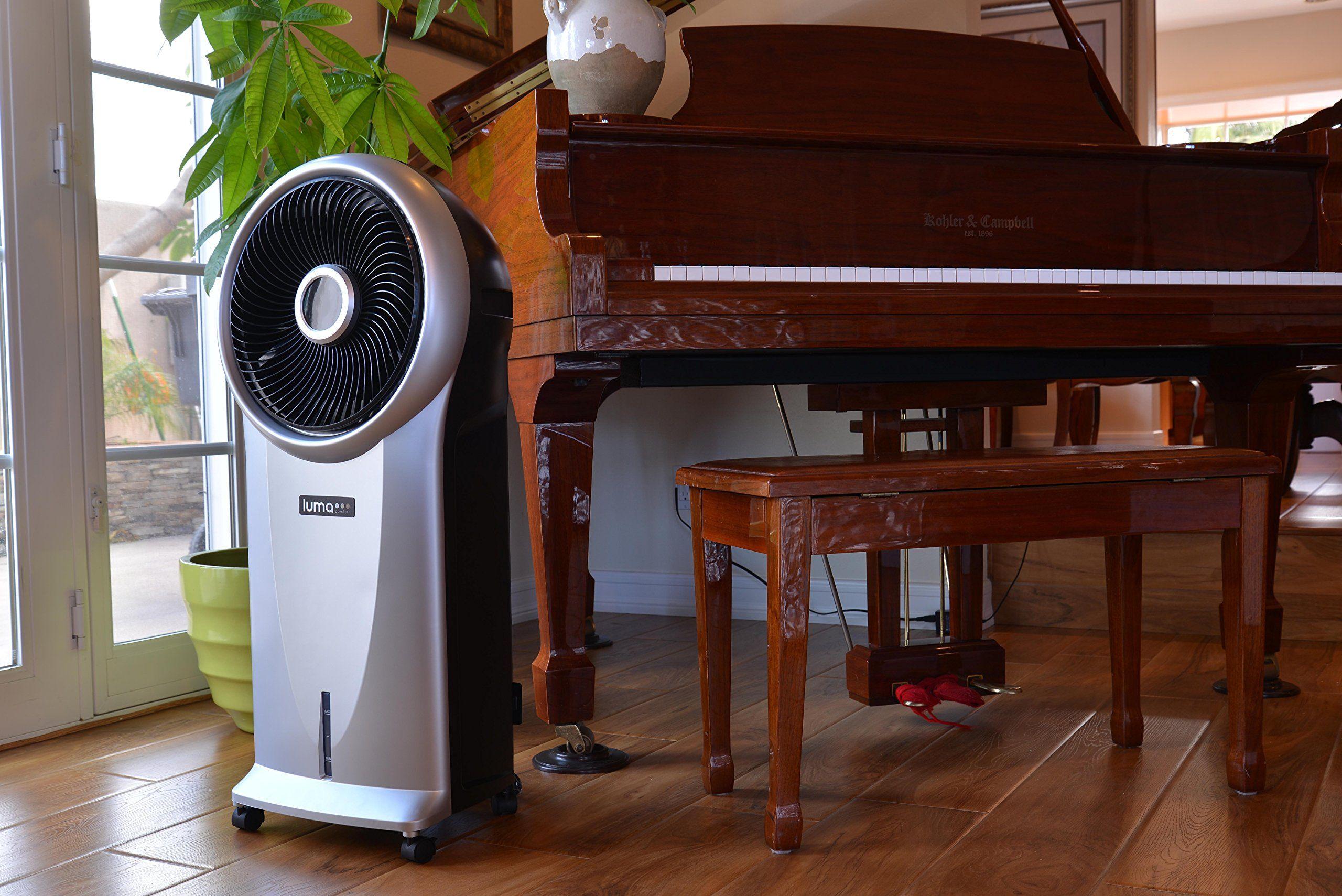 Luma Comfort EC110S Portable Evaporative Cooler with 250