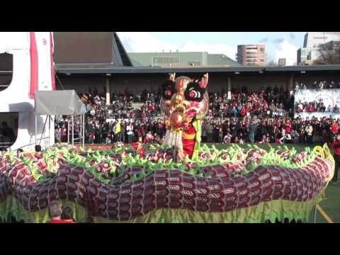 Taoist Tai Chi Society dragon Vancouver 2010 - YouTube