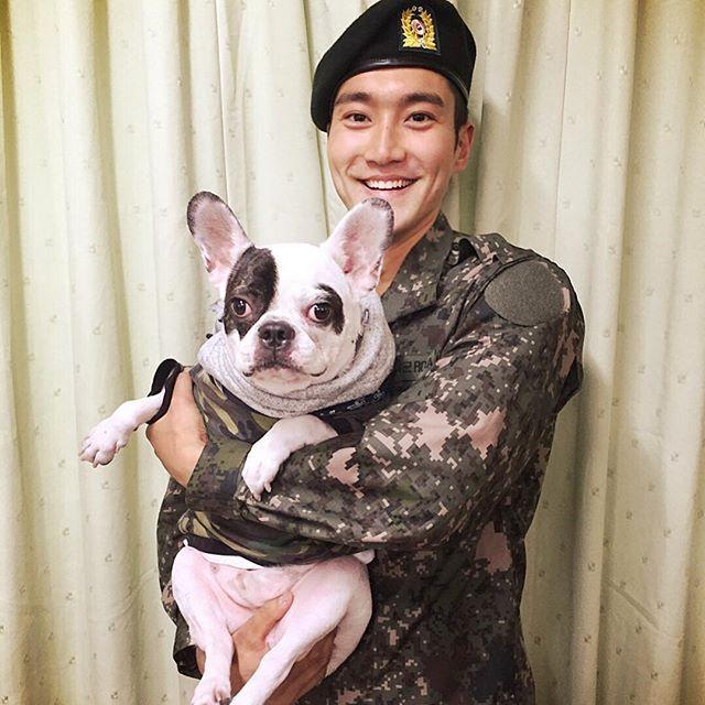 """Choi Jiwon's Instagram Updated: """"Army Bugsy (3xl-4xl, 15kg ..."""