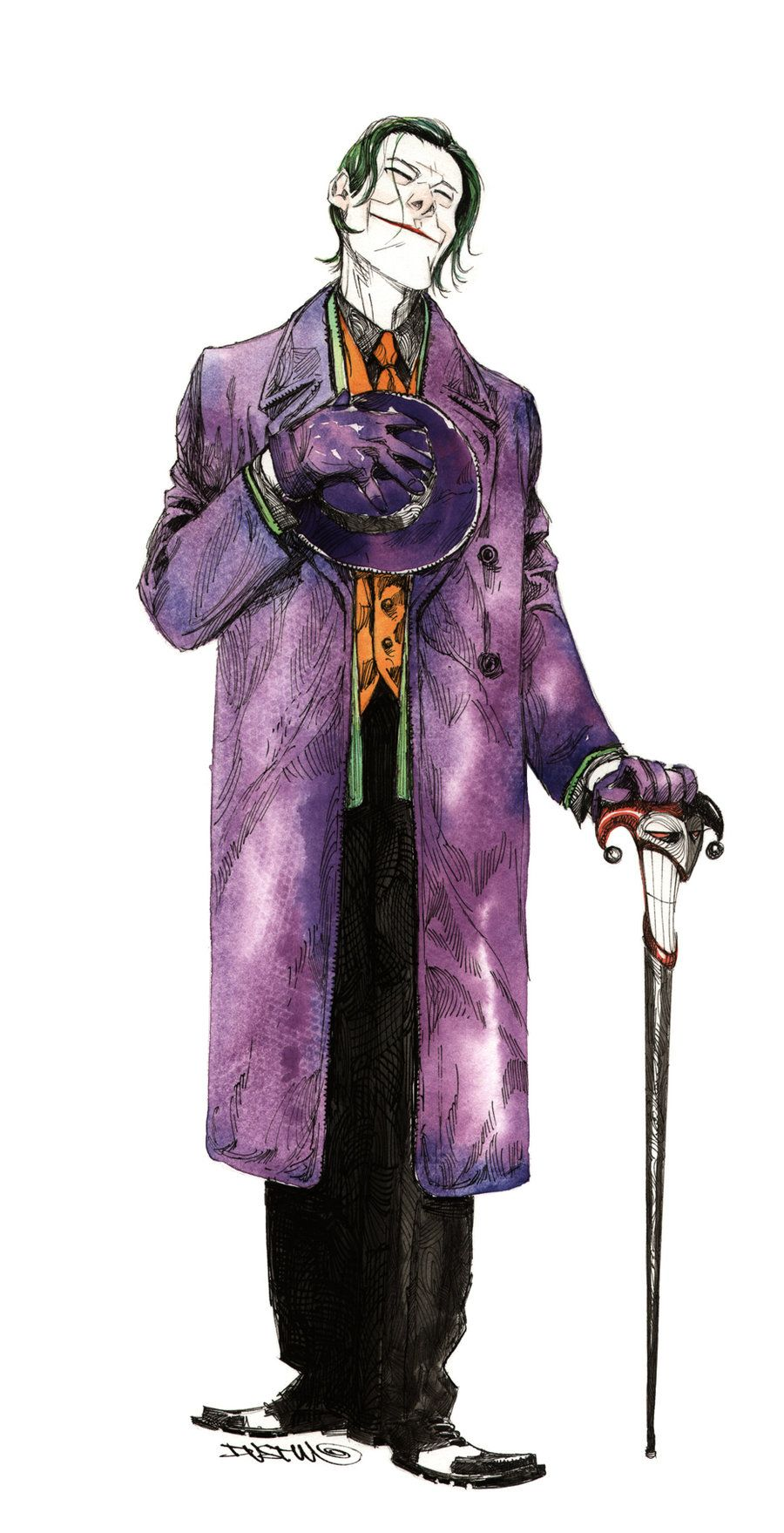 Many great artists have drawn the Joker of the years, but