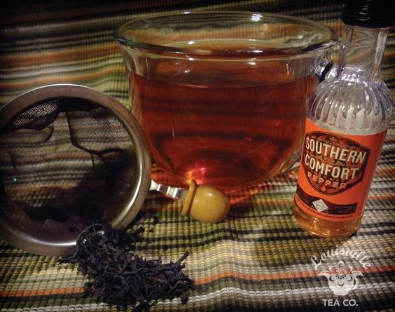 Burning Hot Toddy, Recipe With Lapsang Souchong By