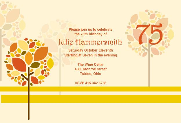 Download Now 75th Birthday Invitations Ideas Download this - best of invitation wording birthday dinner party