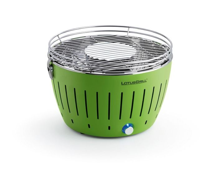 Holzkohlegrill - Ø 34 cm - Grün | Online kaufen bei Segmüller