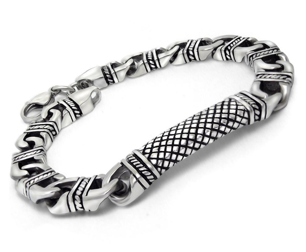 US$ 5.00 Stainless Steel Mens Bracelet Designs | Wholesale ...
