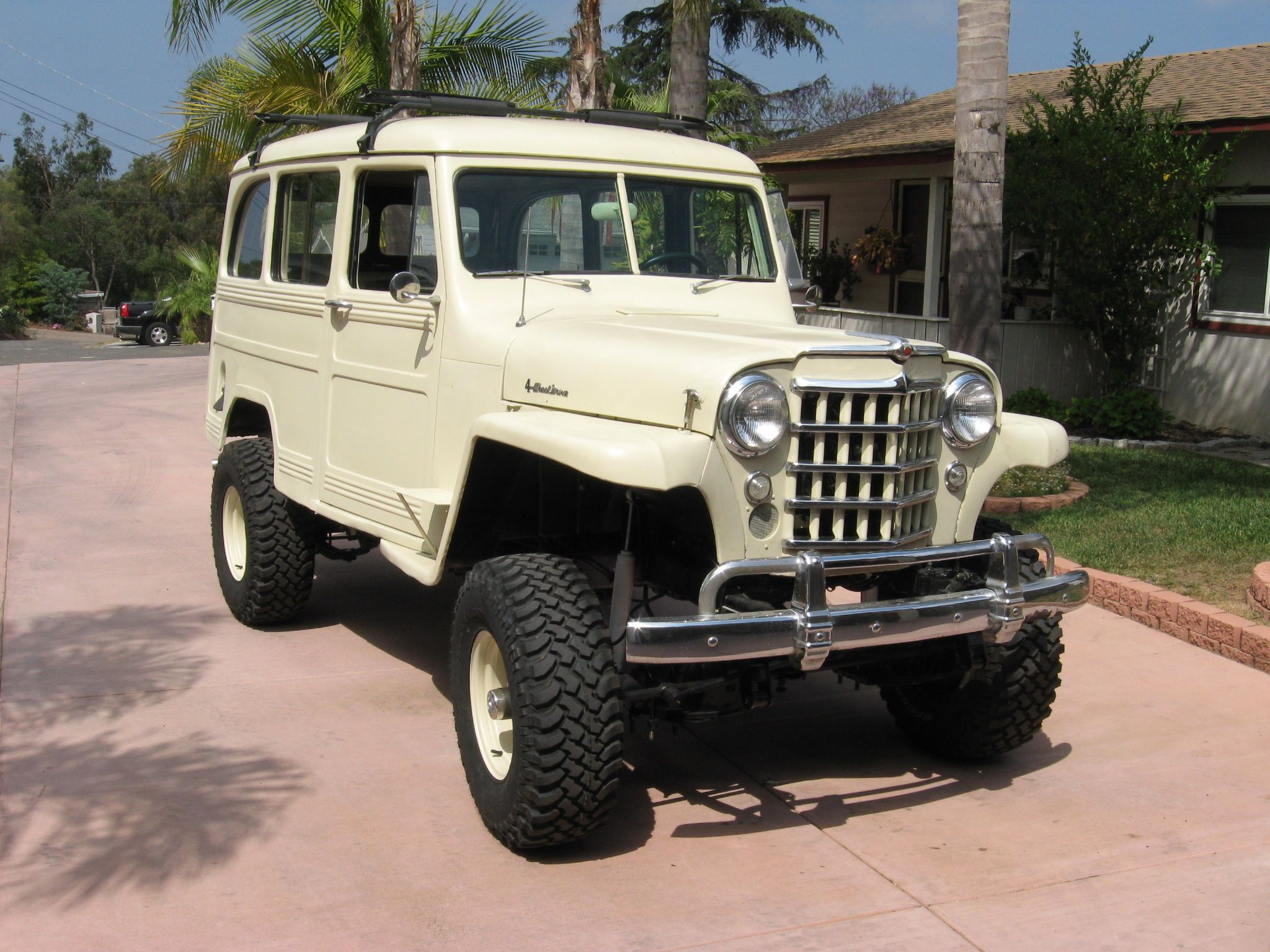 Lifted willys wagon