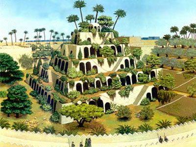 Hanging Gardens Of Babylon Gardens Of Babylon Hanging Garden Wonders Of The World
