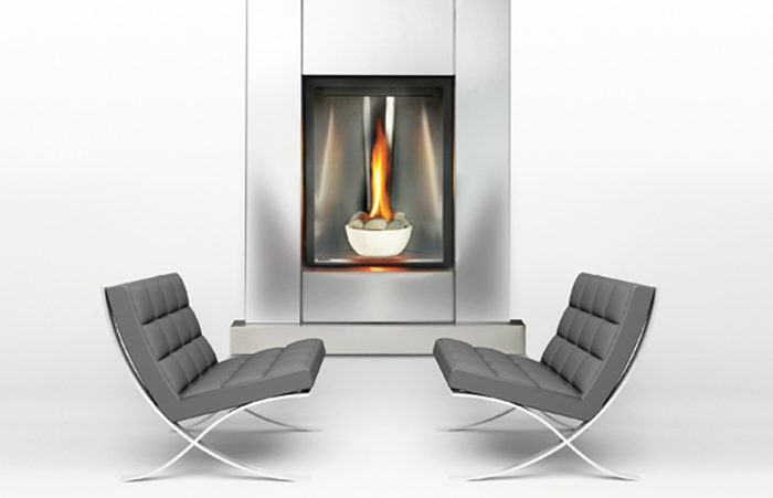 Direct Vent Vented Gas Fireplace Doesn T Need To Exhaust Through The Roof Gas Fireplace Vented Gas Fireplace Direct Vent