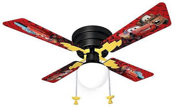 Auto Ceiling Fan : Disney cars ceiling fan tre pinterest