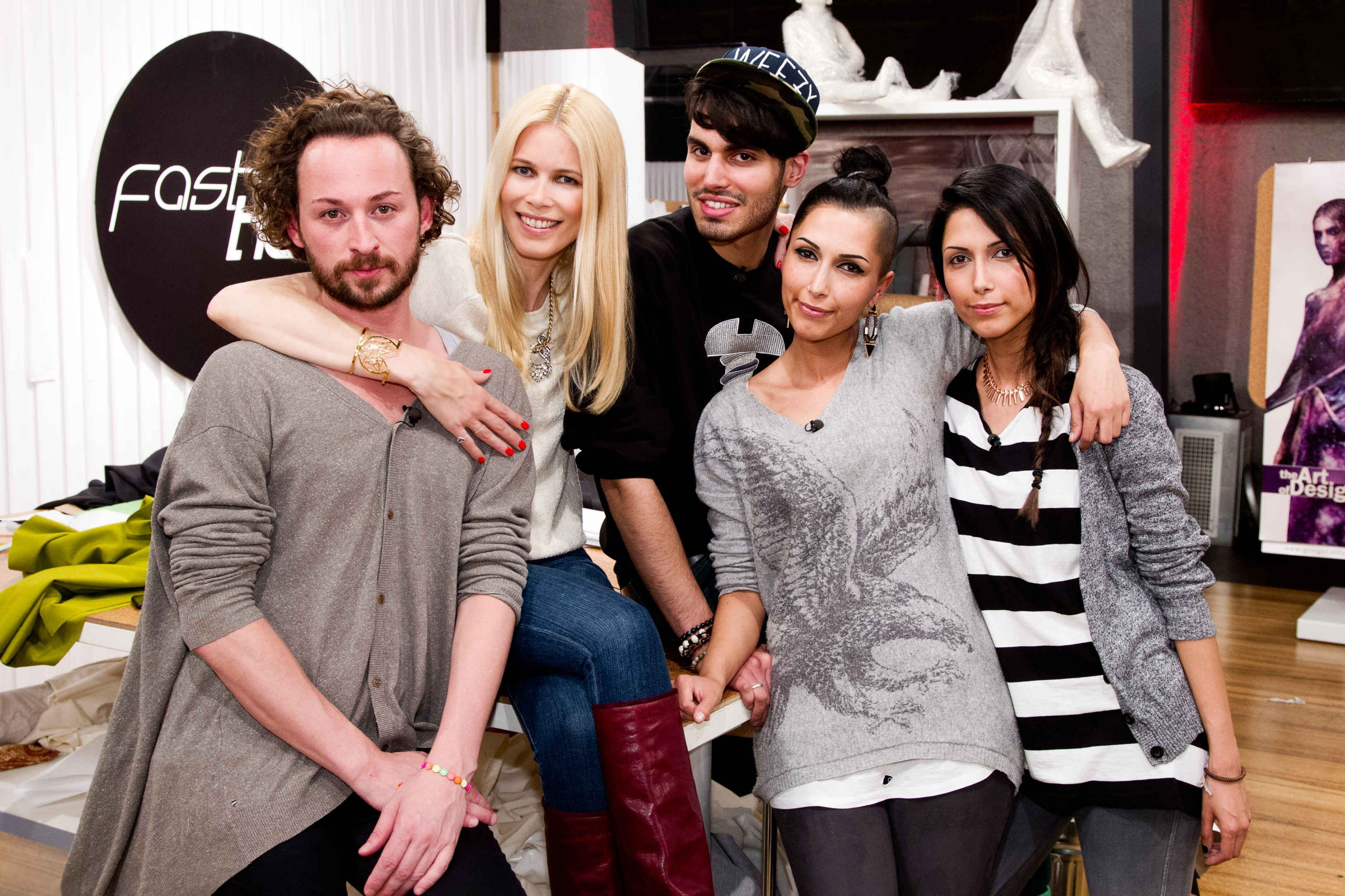 Wer Wird Fashion Hero Jila Jale Marcel Oder Rayan Starsontv Claudia Schiffer Modestil Marcel