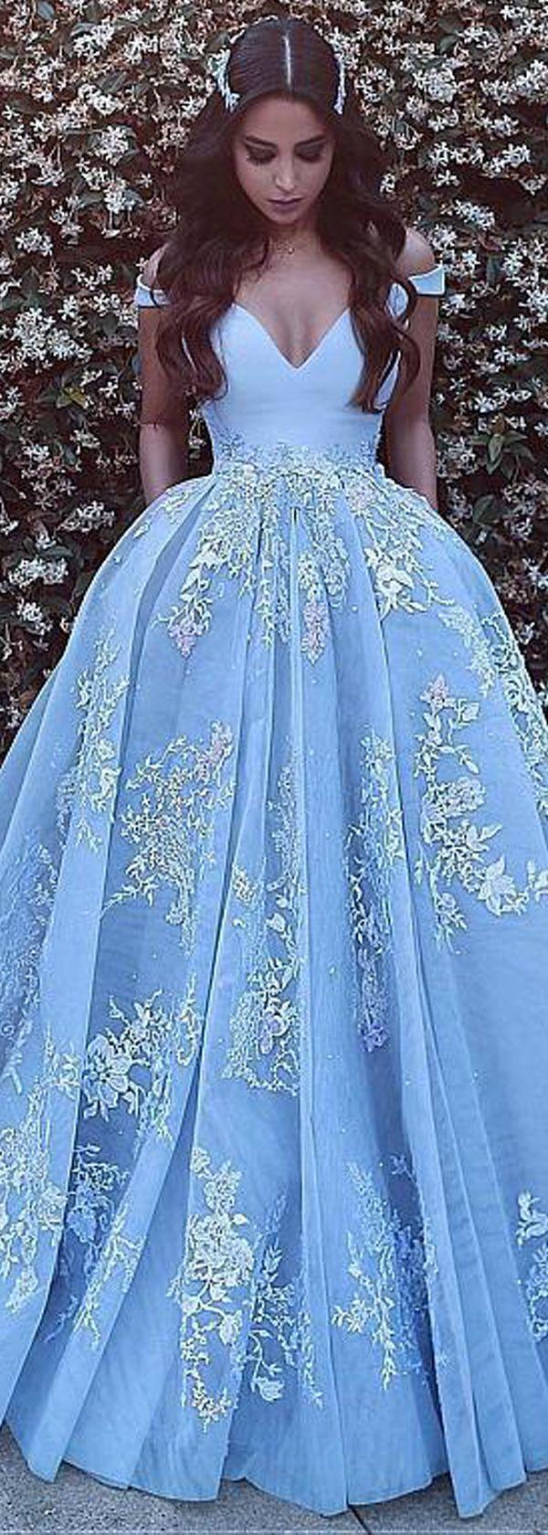 Wonderful satin u tulle offtheshoulder neckline ball gown evening