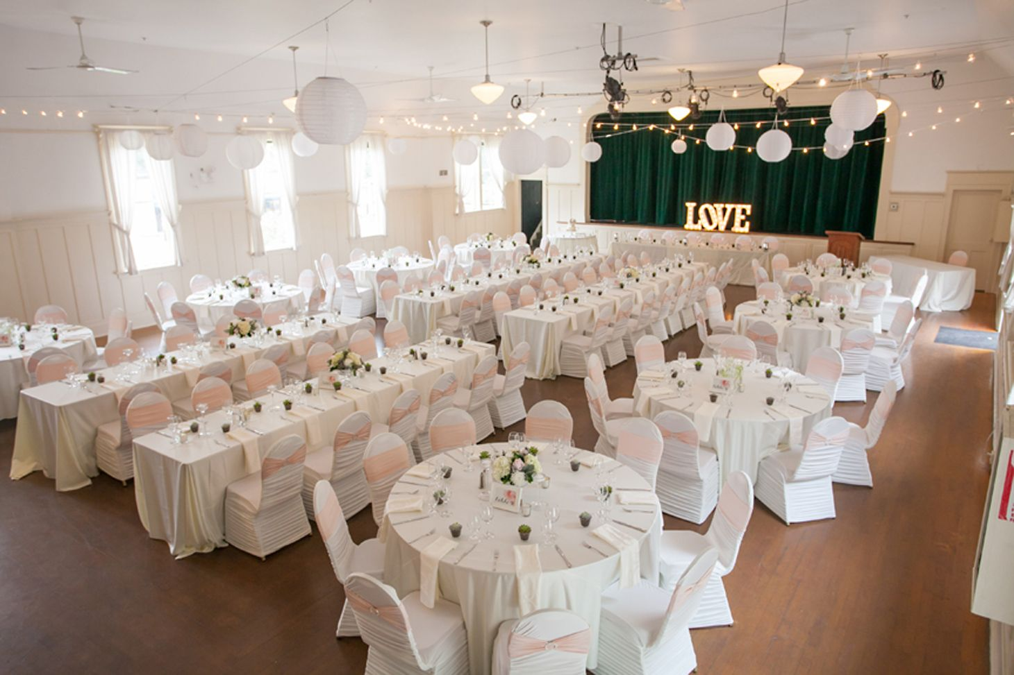 Chair Cover Rentals Langley Office Heating Pad Pin By Becky Kraft On Wedding Ideas Decorations Samantha Amp Ryan Fort Community Hall Http Www Realweddings