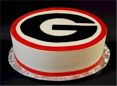 Pleasant Georgia Bulldogs Grooms Cake With Images Georgia Bulldogs Cake Funny Birthday Cards Online Elaedamsfinfo