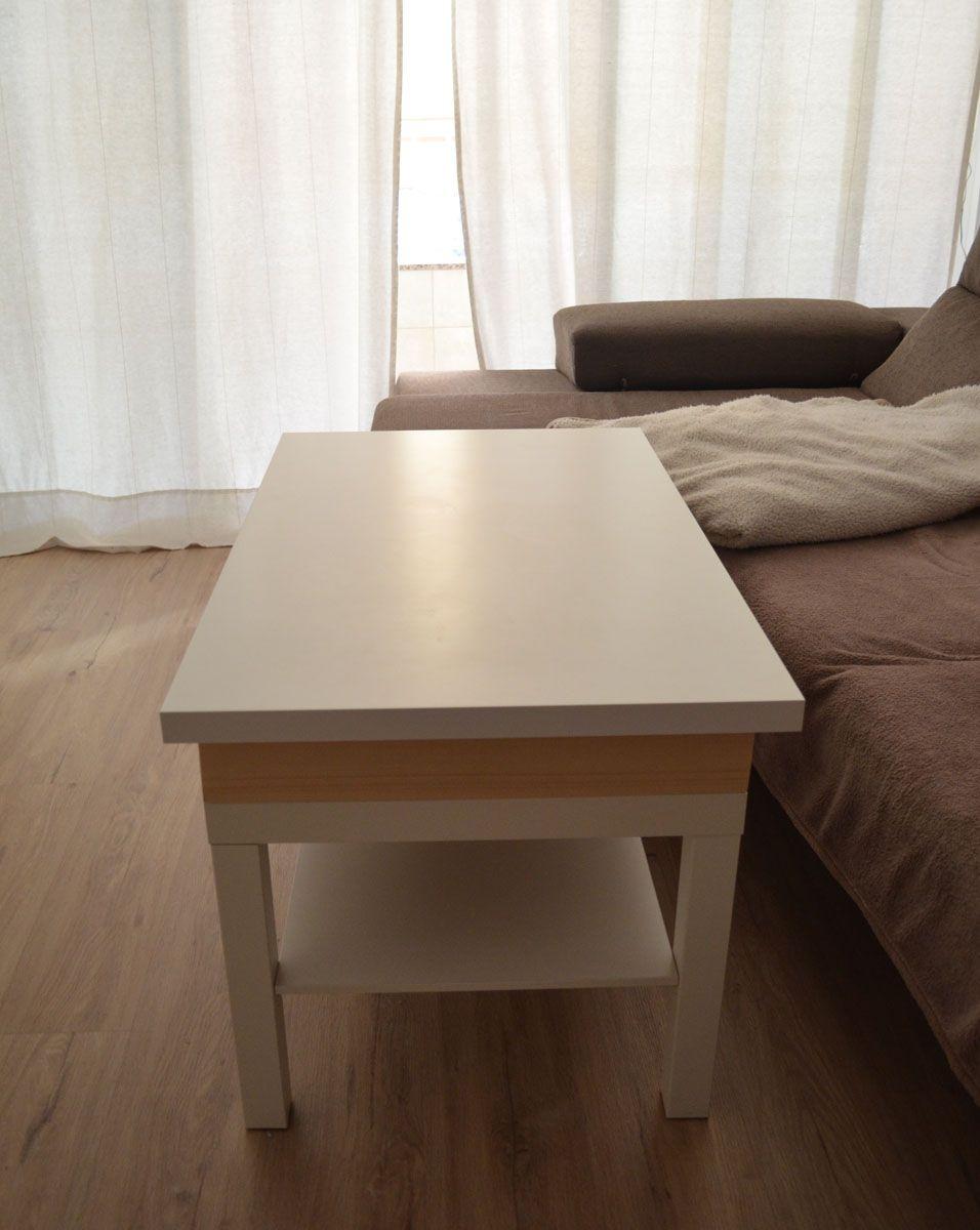 Cómo hacer una mesa elevable con una mesa Lack- Departamento de ...