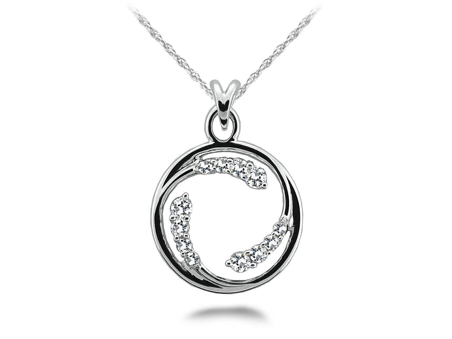 Circle of love diamond pendant bling pinterest diamond pendant circle of love diamond pendant aloadofball Choice Image