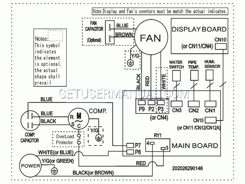 1 In Frigidaire Wiring Diagram Diagram Water Pipes Wire