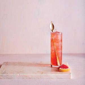 Cachaça, Campari, Lime, and Grapefruit Cocktail #grapefruitcocktail