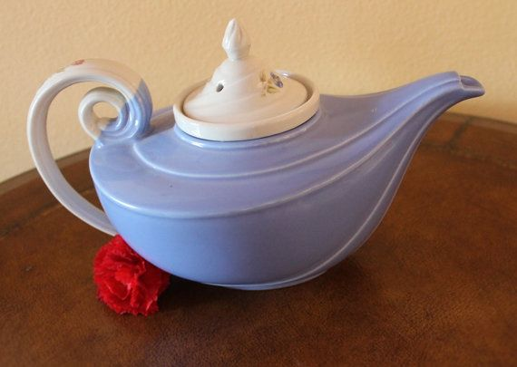 "HALL'S  ""MORNING GLORY"" aladdin tea pot"