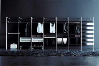 vestidores abiertos ideas y opciones para crear tu vestidor en casa vestidores - Vestidores Abiertos