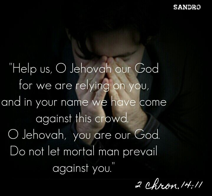 Rely to Jehovah