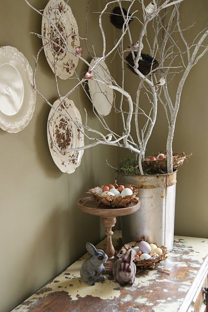 paper nests to make for easter