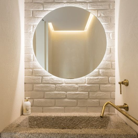 Gallery Of The Glade Dlm Architects 17 In 2020 Powder Room