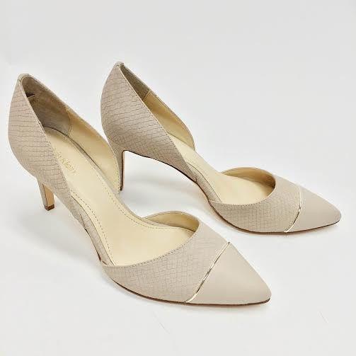 Calvin Klein Snakeskin Heels (7)