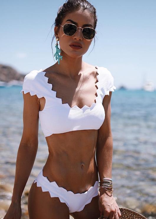 bf11ba236 Biquíni babado para o verão 2018 | Moda, estilo e looks | Biquini ...