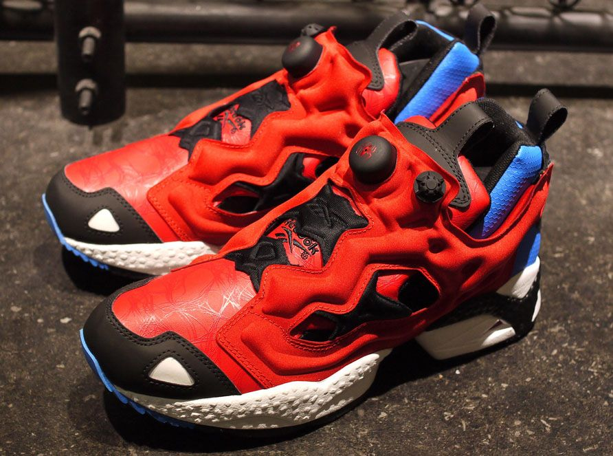 reebok spiderman trainers size 9