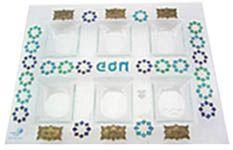 Plastic Passover Seder Plates ~ Paper Goods ~ 720-362-3497 MileChai.com Jewish Books and Judaica
