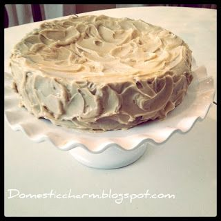 Domestic Charm: SCD Peanut Butter Birthday Cake