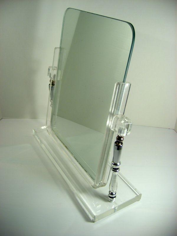 plexiglass mirror Vintage