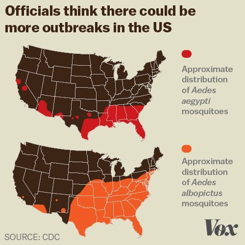Zika Virus Explained In Charts And Maps Zika Virus - Us zika map