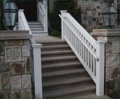Jamestown Railing With Safety Rail   A Custom Grip Rail Is The Code  Compliant Addition To