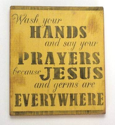 Wash your hands and say your prayers because #scrappinalong