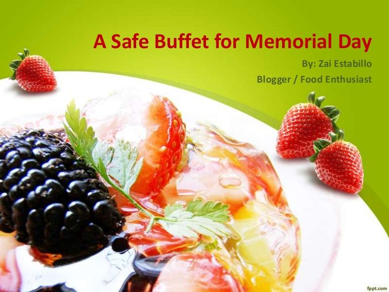 A Safe Buffet For Memorial Day Memorialdayweekend Memorialday