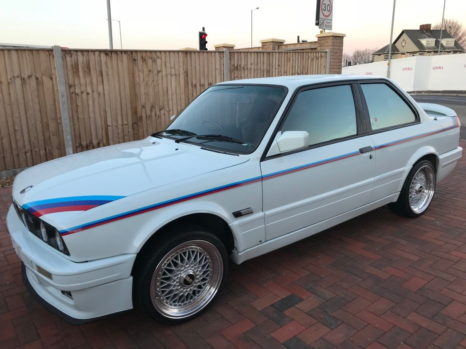 eBay BMW 325is Sport Shadowline Mtech 1 Evo 1 1989 White