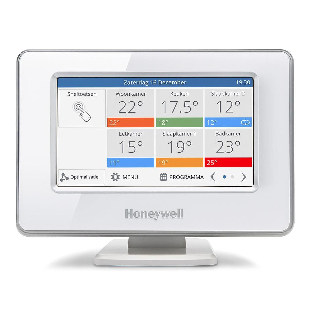 Honeywell Evohome Wi-Fi colour 5x (8x) zones vloerverwarming - I ...