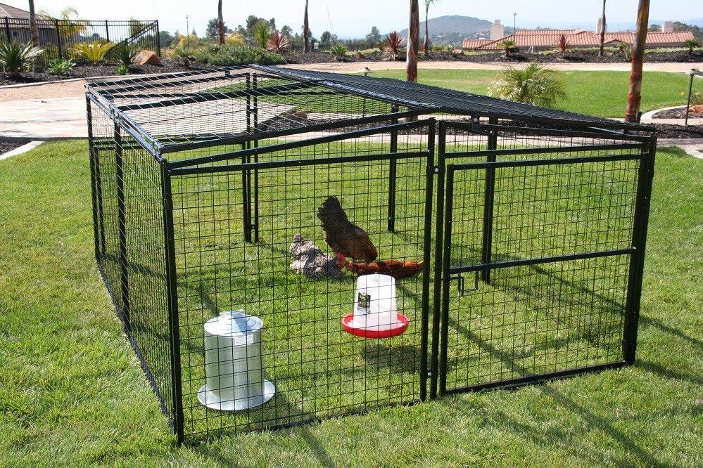 Rugged Ranch Universal Welded Wire Pen 7 X 8 Metalcoop Dog Pen Dog Playpen Pet Chickens