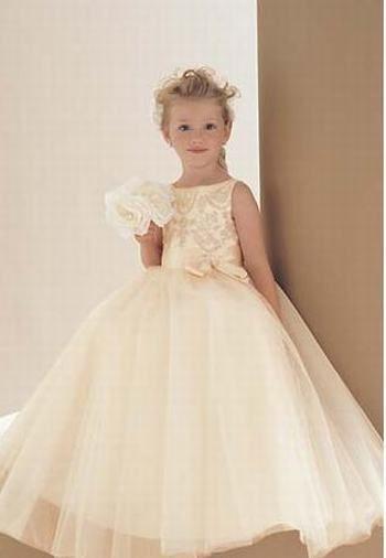 2aeba14ca03 gold flower girl dress