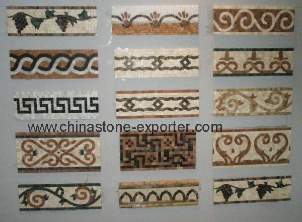 tile borders | mosaic border (krm-0040) - china mosaic tiles, Hause deko