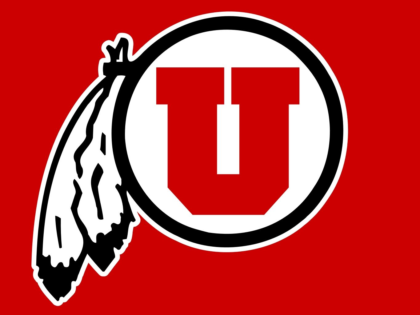Image result for utah utes logo colored background