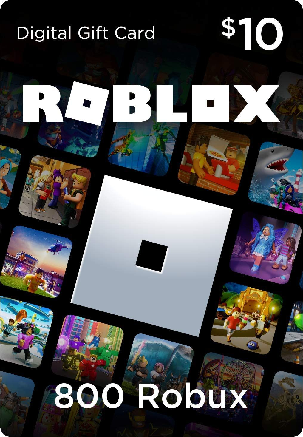 Roblox Gift Card 800 Robux Game Code] in 2020