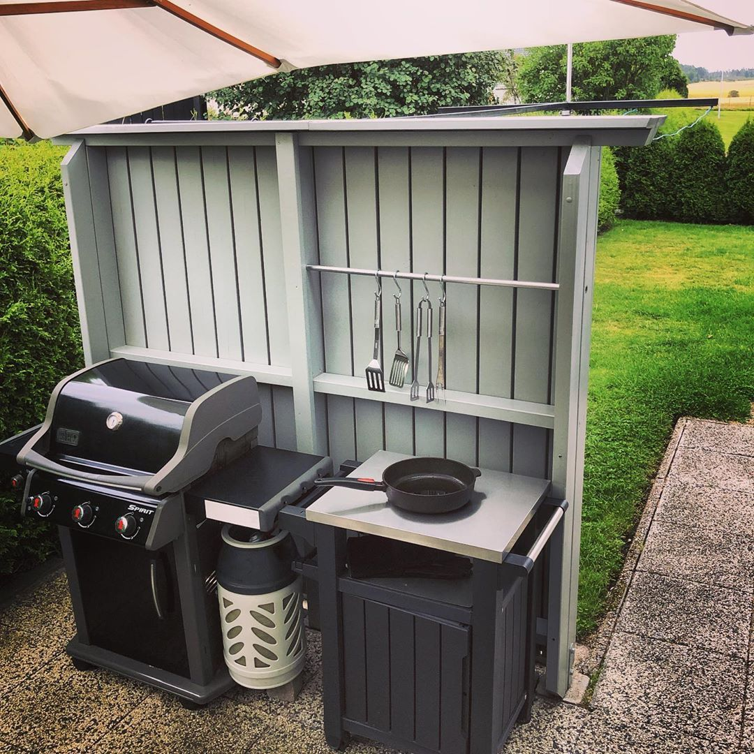 """Christian Ruscetta's Instagram photo: """"Papa's outdoor grill kitchen ������� #grill #grillhouse #instagrill #outdoorgrill #outdoorkitchen #outdoorkitchensandgrills #grillkitchen…"""""""