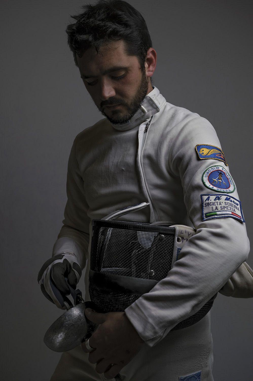 Fencing portrait by duzimage.com