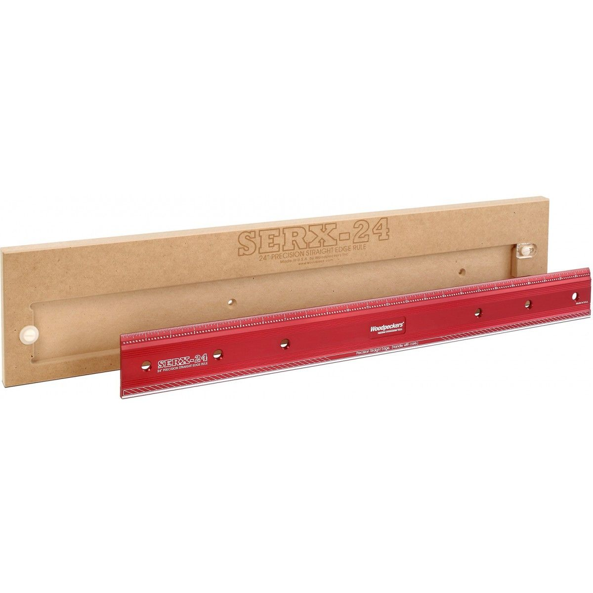 Woodpeckers Serxl 24 Straight Edge Rule Tool Box Challenges