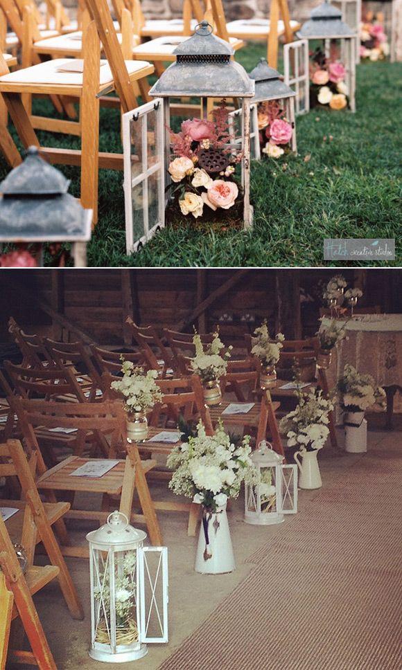 C mo organizar tu boda la ceremonia ideas para decorar for Ideas para decorar una boda
