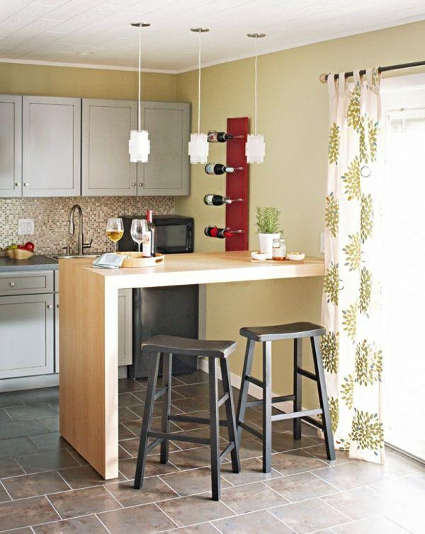 bartisch aus holz mit zwei hockern | decor | pinterest, Best garten ideen