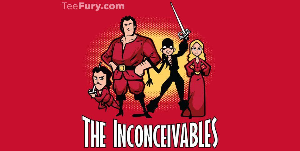 The Inconceivables @teefury