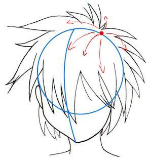 Tutoriel Manga Comment dessiner les cheveux Sekai's